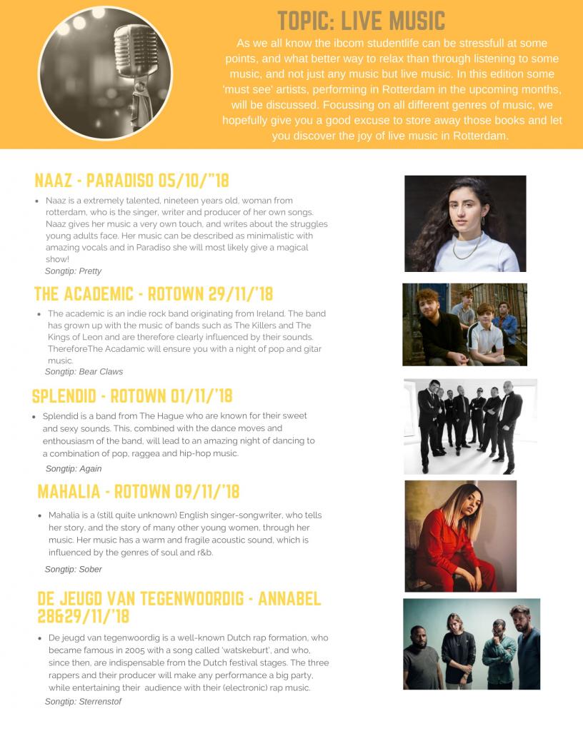 Ibcom magazine blog Floortje Passchier, Live Music-1 ⋆ IBCoMagazine